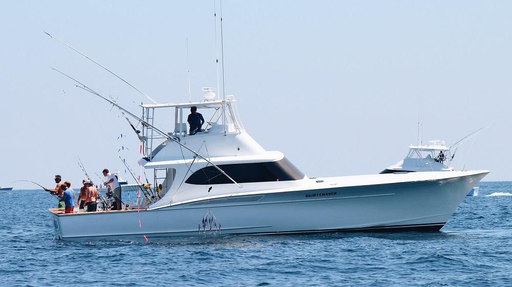 Skirt chaser sportfishing boat oregon inlet nc skirt for Deep sea fishing outer banks nc